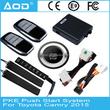 Smart key push button engine start system for Toyota Camry 2015