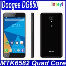 "Wholesale Doogee DG850 5.0"" MTK6582 1GB+16GB Android 4.4 Dual SIM Dual Camera Mobile phone"