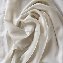 100% silk fabric 19 m/m Double georgette with high quality