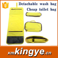 2015 new design hotsale detachable toilet bag for women