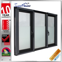 hot sale built-in windows with blinds sliding doors and window as2047