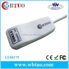 Hot selling USB 3.0 Rj45 dongle adapter Usb 3.0 to lan Rj45 gigabit network card adapter