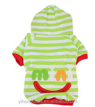 Pet Clothes Small Pet Dog Stripes Hooodie Coat Cat Puppy Clothes Apparel Clothing
