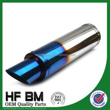 wholesale stainless steel motorcycle exhaust pipe, exhaust muffler motorcycle racing