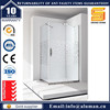 2015 top sell tempered glass shower screen flexible for bathroom