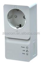 ZISA PA1200 communication powerline ethernet network adapter