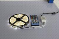 5M 5050 Waterproof RGBW SMD 300 60LED/M LED Strip Lights SUPERNIGHT Black PCB