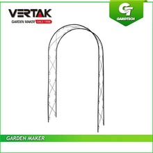Own warehouse good quality steel garden rose arch