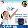 small size only 27g app sos call necklace waterproof mini smart gps kids tracker
