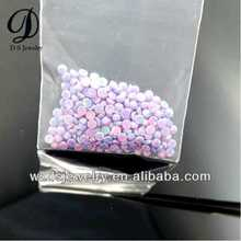 Gorgerous colorful round opals cabochons beads , opal price wholesale