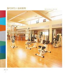 Outdoor Interlocking Sports Flooring / PVC Basketball Court Wood Flooring
