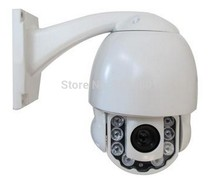 """4inch MINI PTZ Camera 1/3"""" SONY Effio-E CCD 700TVL High Speed Dome 10x Optical Zoom with IR Night Vision outdoor waterproof"""