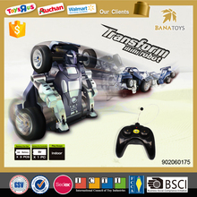 Special Offer! 2015 Newest cool rc drift car toy 360 degrees car transform robot toy
