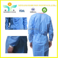 Medical useful isolation surgical coverall with factory price / surgical clothes