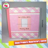 10 x 10 Girl Keepsake Memory book Photo Baby Album