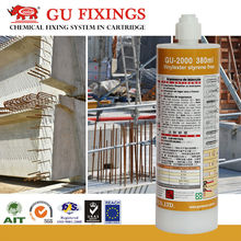 Tailor made injection anchor epoxy grout for iron steel bars