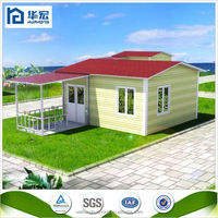 china supplier steel structure concrete prefab kit house room