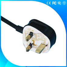 UK assembly detachable power cord with BS approval Y006