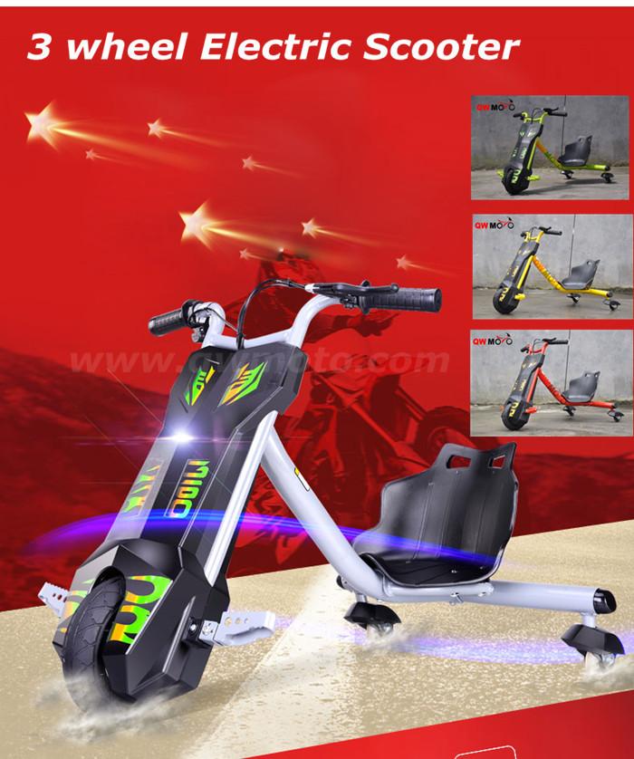 100 W para niños drift triciclo tres ruedas 360 eléctrico ...