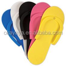 2015 New Model Professional Colorful Disposable Foam/Nail Art /Eva /Flip-FopsSlipper Pedicure Cheap Hotel/Salon Slippers
