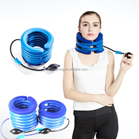 inflatable air neck traction /Soft Air-pressure Neck Traction cervical collar/ cervical traction device