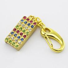 Bulk cheap metal pen disk 2tb usb flash drive gold design jewelry necklace usb stick