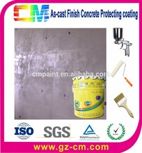 Textura de hormigón nano de rodillos de la pared externa como- reparto de pintura de acabado