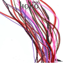 2015 top selling grizzly rooster feather extension