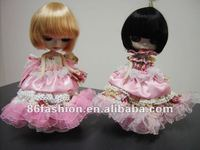 Fashion design clothes display doll, plastic display dress up doll