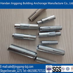5/16 High quality fastener anchor, anchor Bolt and nut, drop in anchor
