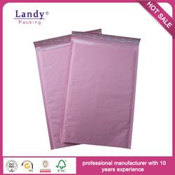 Hot sale pink kraft padded envelopes