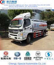 famous foton refueling tanker truck, used oil tanker