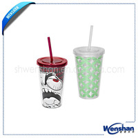wholesale plastic tumbler with cover