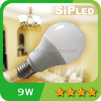 China manufacturing led bulb e27 9w energy saving cheap led bulb lighting for home and office