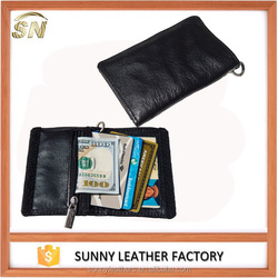 Funky folding card holder wallets with velcro