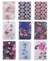 New Flower Wallet Case Cover for Samsung Galaxy Note 10.1 2014 Edition P600 P601