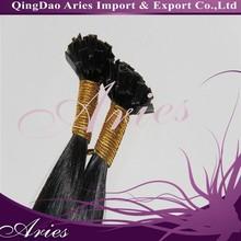 Cheap Unprocessed Brazilian Virgin Human Hair Flat Tip Hair Extensions Pre Bonded Hair Wholesale