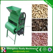 Small cheap price automatic 200-300kg/h peanut husking machine,peanut sheller machine with CE