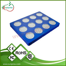 2015 most popular high power 11 band led grow light for medical plants