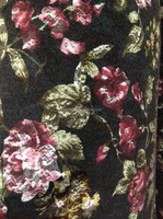 Autumn And Winter thick fabric No bottom line Embroidery cloth