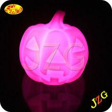 Plastic Multi-color LED Flashing Halloween Pumpkin