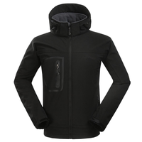Mens Outdoor Jacket Waterproof Breathable Soft Shell Climbing Jacket