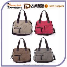 Fashion large lady canvas shoulder handbag tote bags