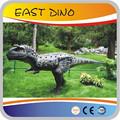 Exterior parque Adventure mecánico dinosaurios Animatronic con movimiento y sonido