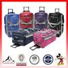 33 Inch 8-pocket Rolling Upright Duffel Bag(HC-A684)
