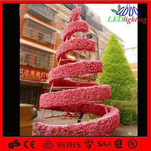hot sale commercial government 3d moitf light Christmas Decoration Tree