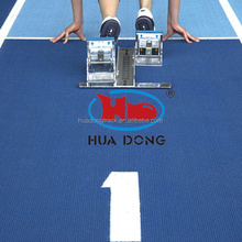 Synthetic Prefabricated 13mm Rubber Running Tracks for Stadium