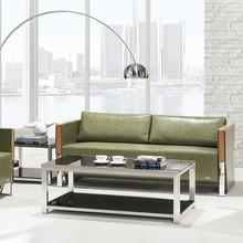 Promotion high quality office furniture fabric sofa PU office sofa