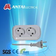 spike guard two gang outlet,universal adapter
