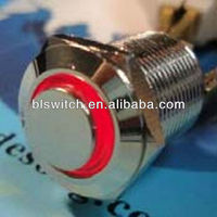 Waterproof Metal 120v momentary gas push button ignition switch(12MM,CE,ROHS,REACH,IP65,IP67)